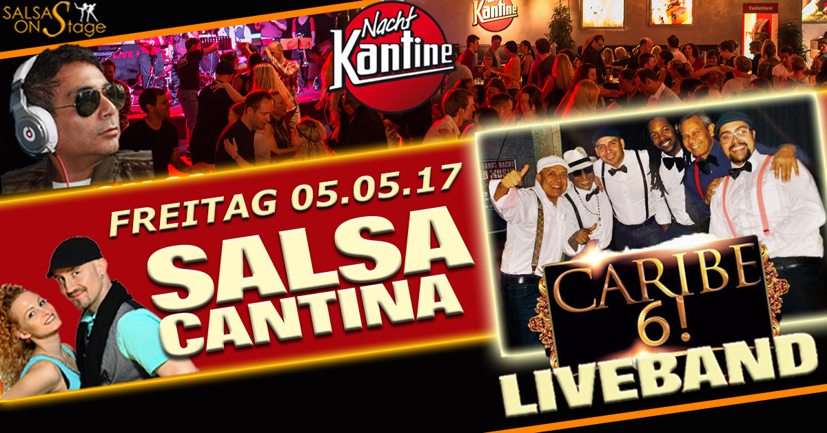 salsa cantina party mit liveband mauricio diaz caribe 6 m nchen salsa. Black Bedroom Furniture Sets. Home Design Ideas