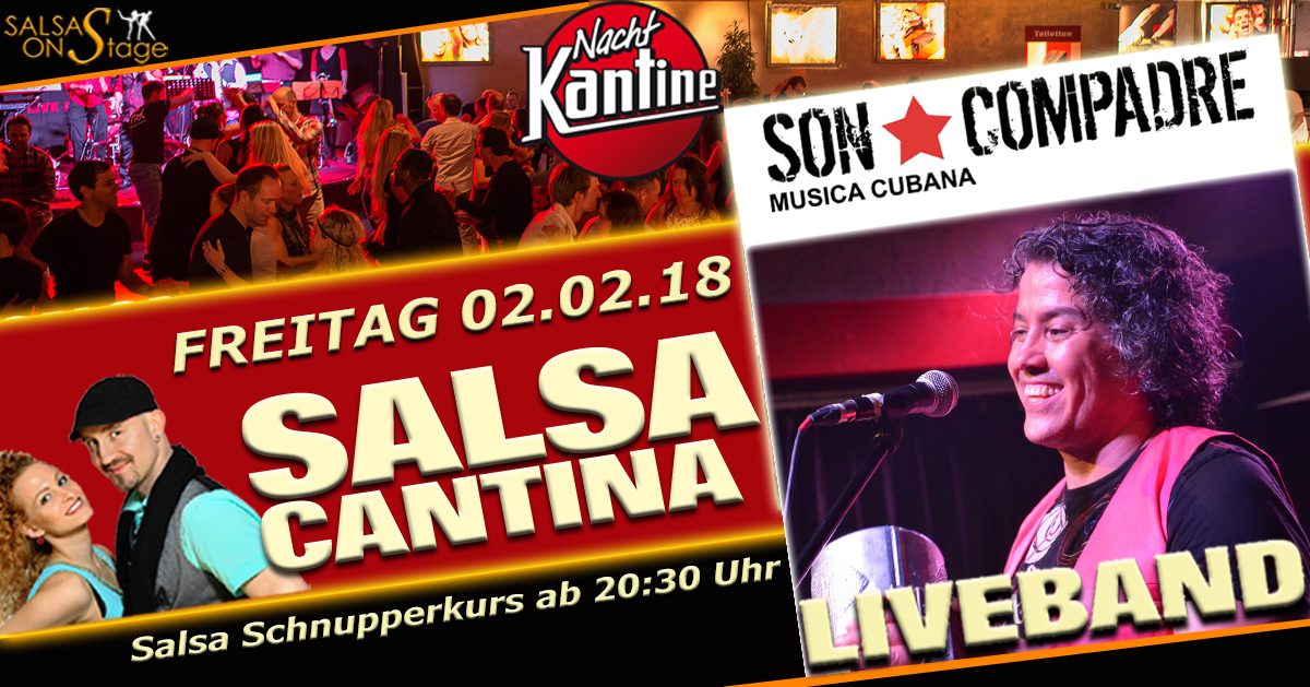 salsa cantina party mit liveband son compadre m nchen salsa. Black Bedroom Furniture Sets. Home Design Ideas