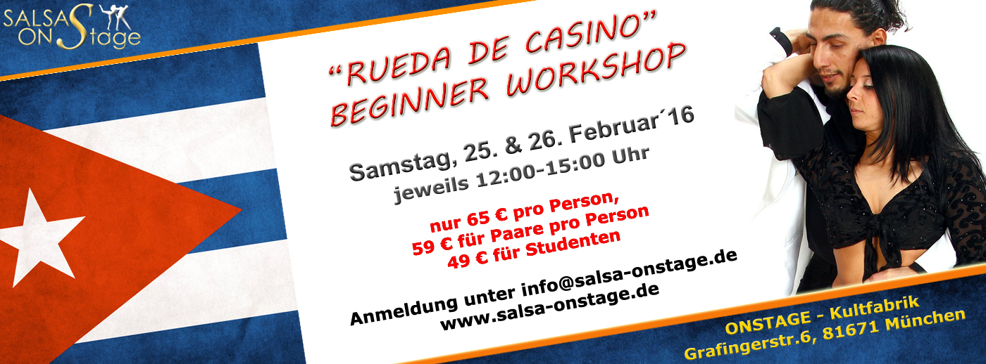rueda de casino workshop