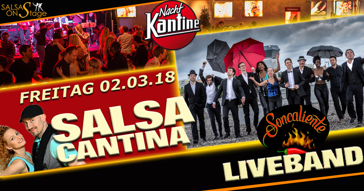salsa cantina party mit liveband soncaliente m nchen salsa. Black Bedroom Furniture Sets. Home Design Ideas